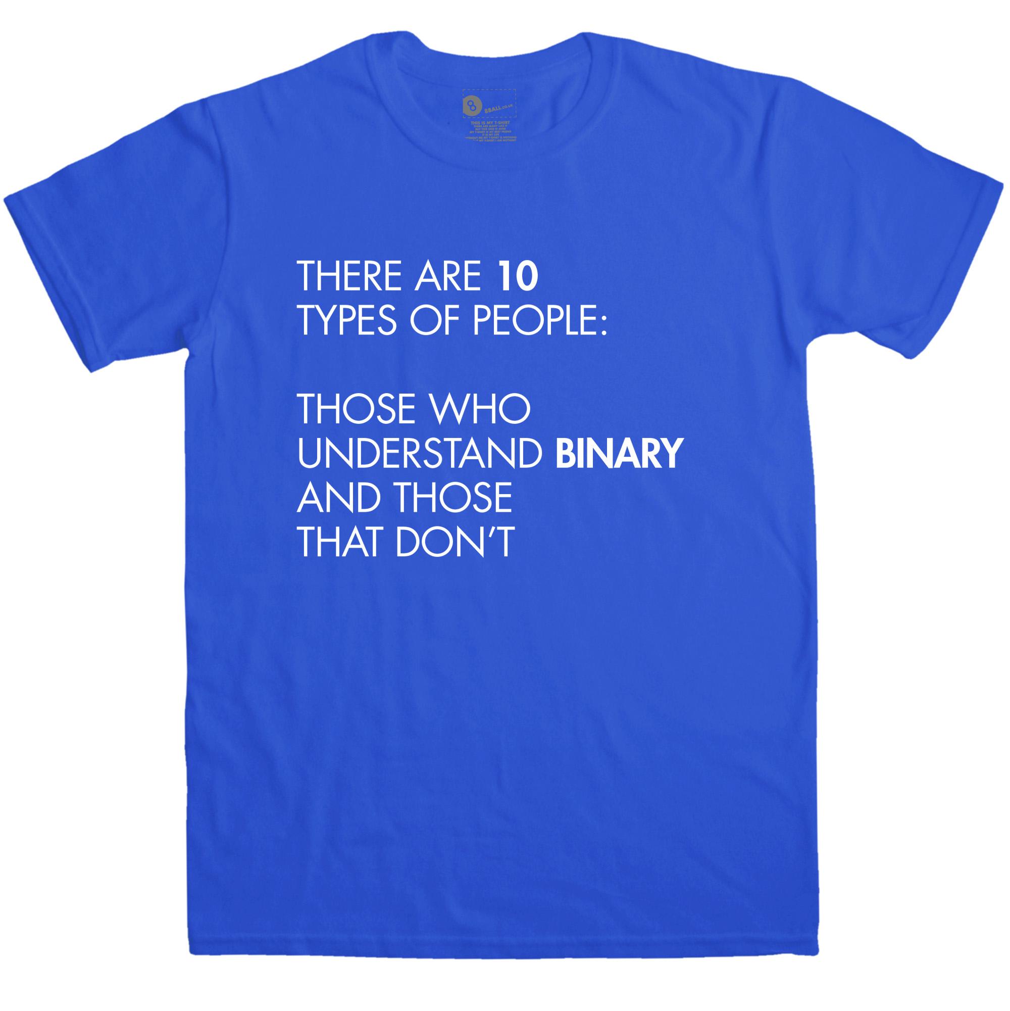 Binary t shirt geek