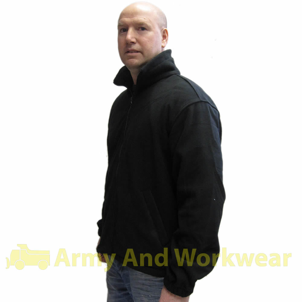 Security Guard Micro Fleece Jacket SIA Bouncer Doorman | eBay