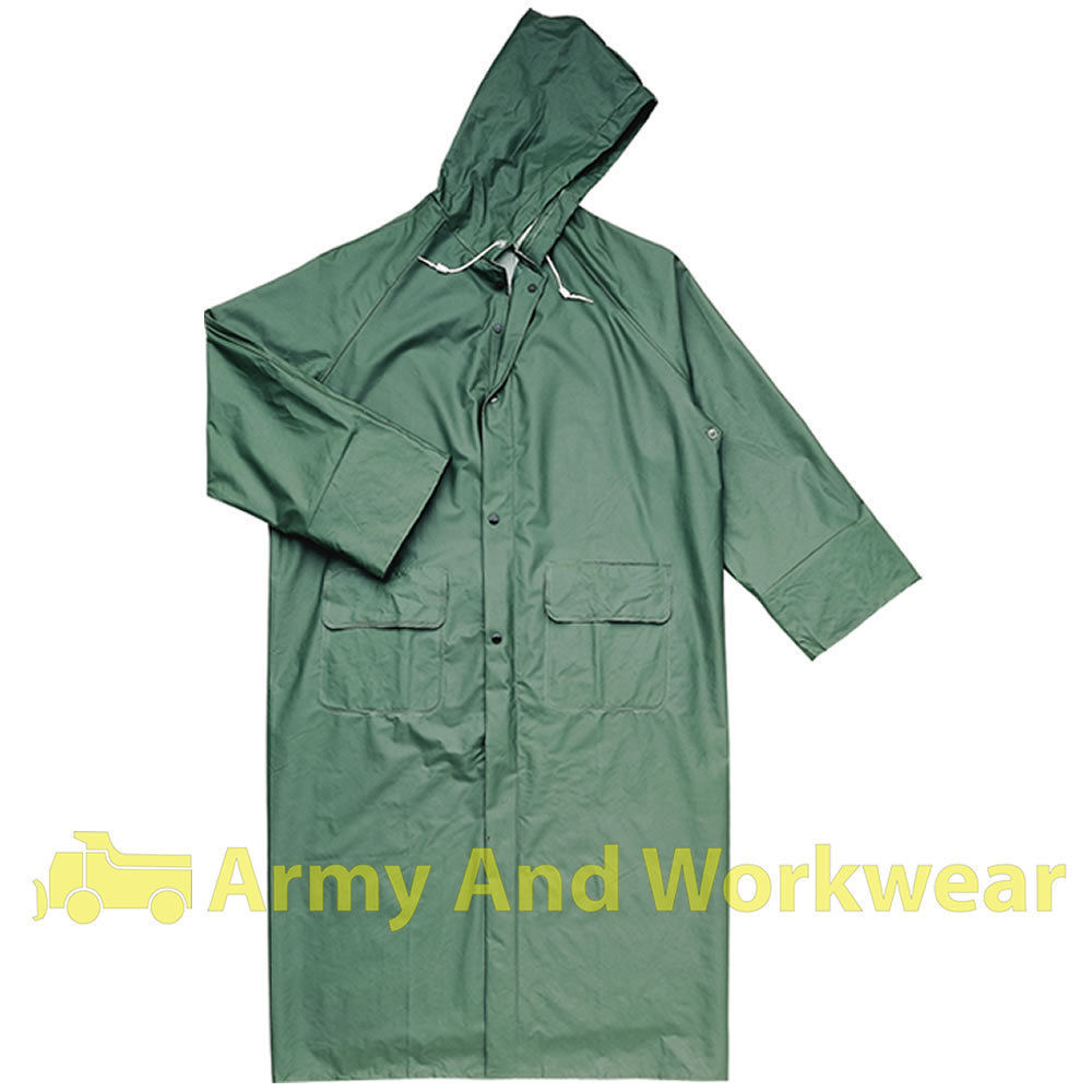 Delta-Plus-Panoply-305-Mens-Waterproof-LONG-Full-Length-Rain-Jacket-Coat-Work