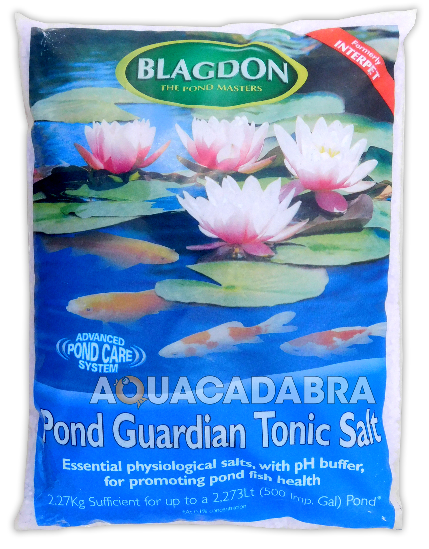 Blagdon guardian tonic salt interpet for Saltwater fish pond