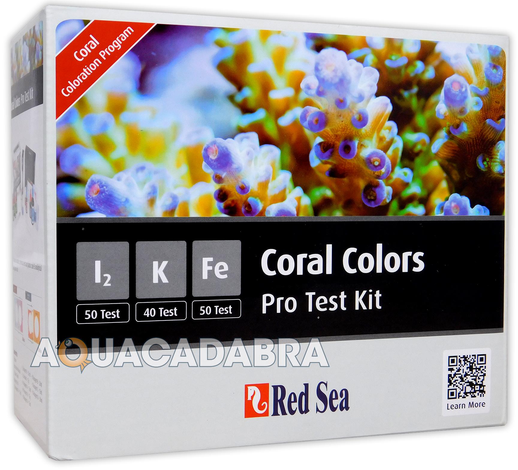 Fish tank test kit - Red Sea Coral Colours A B C D Marine Reef Treatments