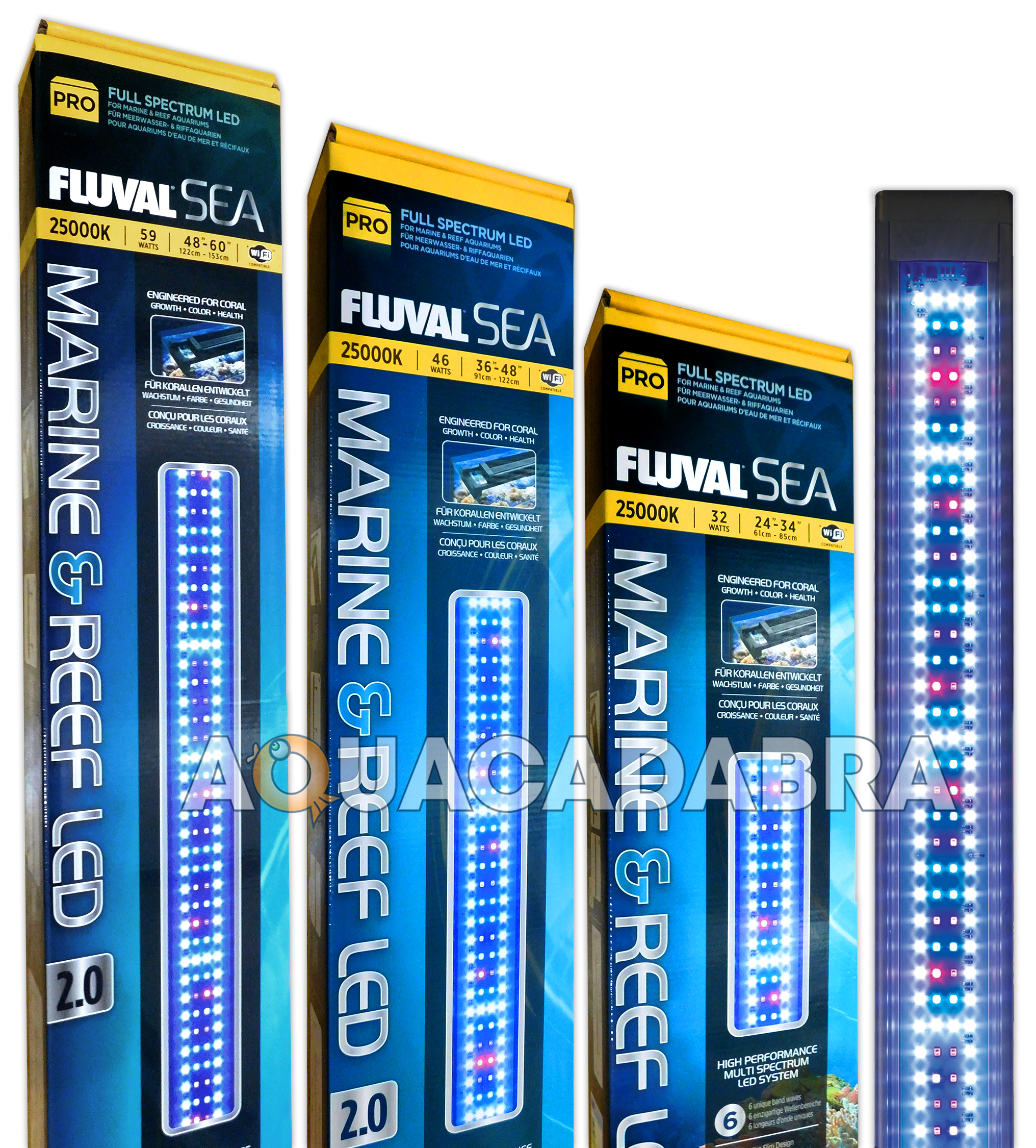 Fluval Marine Amp Reef Led 2 0 Lighting Spectrum Waterproof