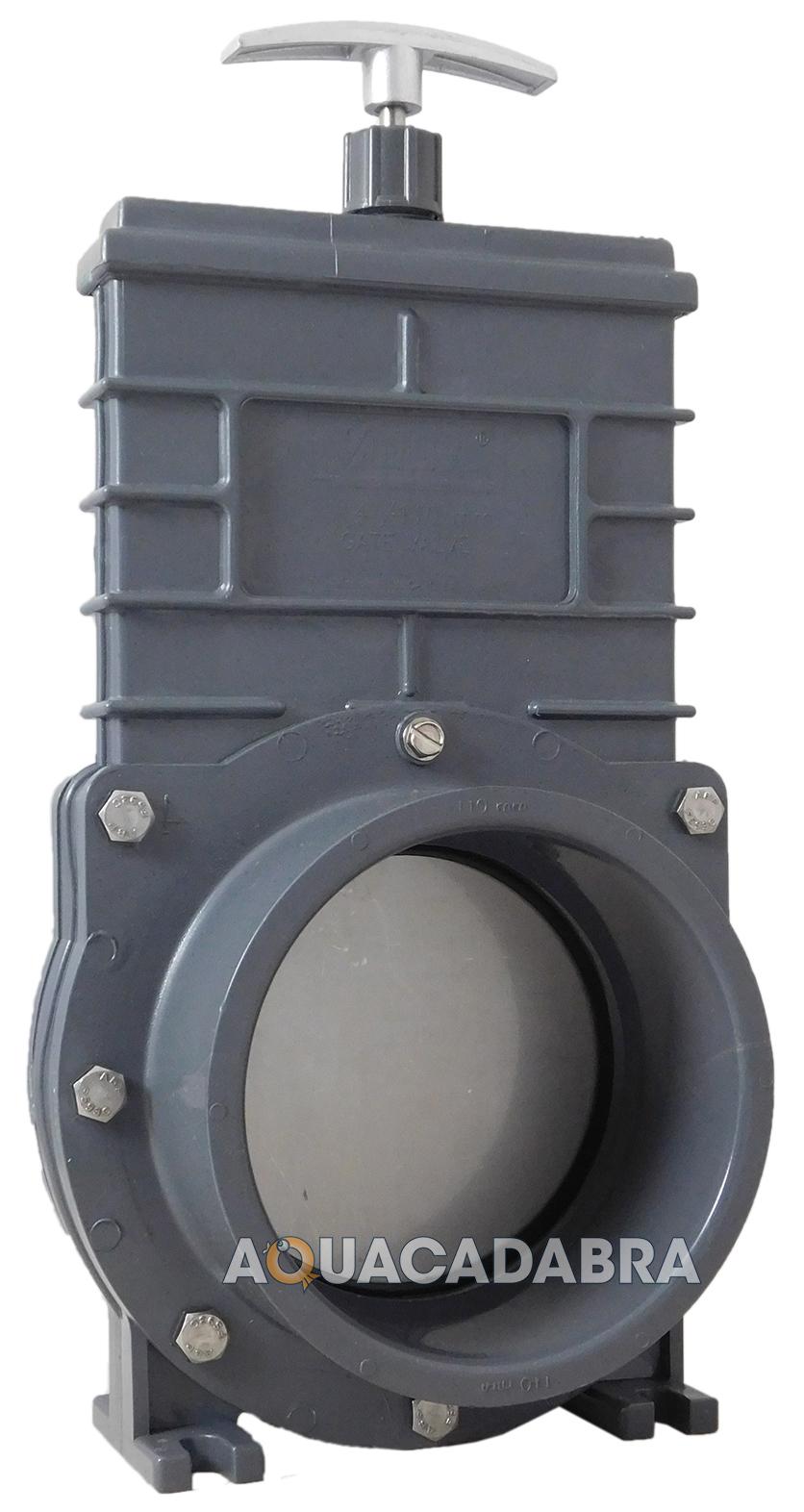 Valterra slide gate 4 genuine valve pond pool filter for Pond filter pipe
