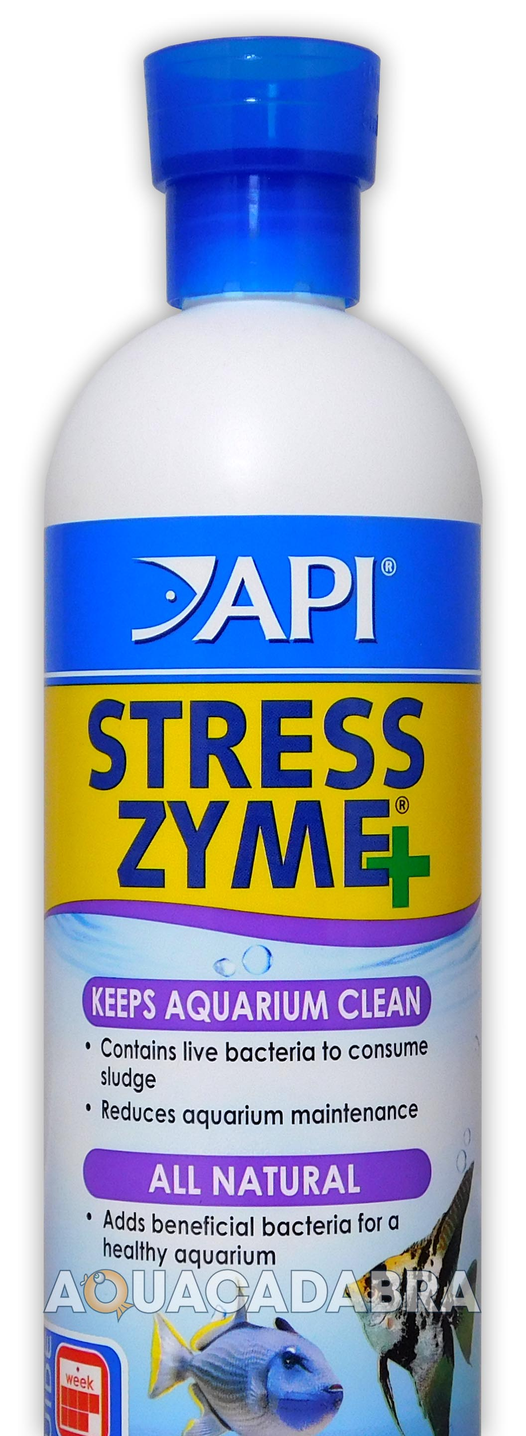 API STRESS-ZYME+ 237ML FISH TANK FILTER BIO BOOSTER