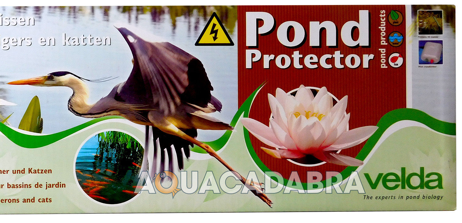 Velda Pond Protector Electric Fence Stops Herons Cats