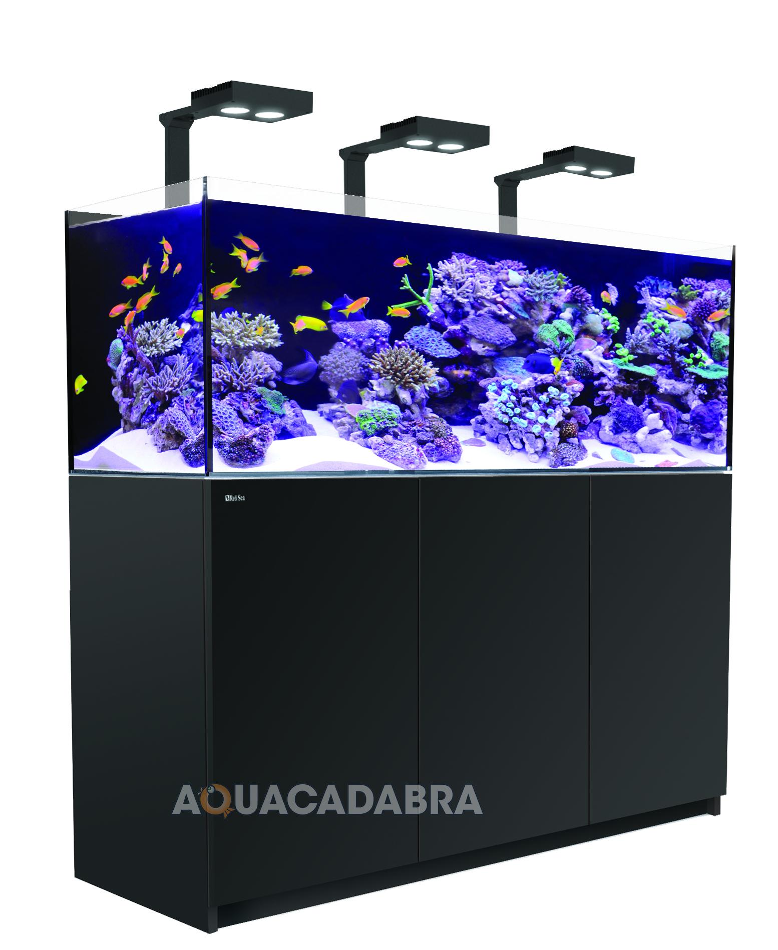 Red sea reefer deluxe marine aquarium complete systems led for Aquarium marin complet