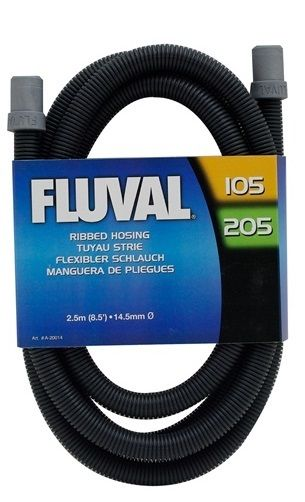 Fluval ribbed hose hosing fish tank pipe for filter with for Fish tank hose
