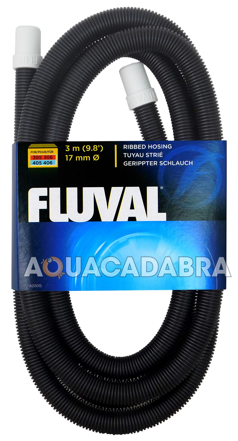 FLUVAL EXTERNAL FILTER HOSING RIBBED 105,205,106,206,305,306,405,406,FX4,FX5,FX6