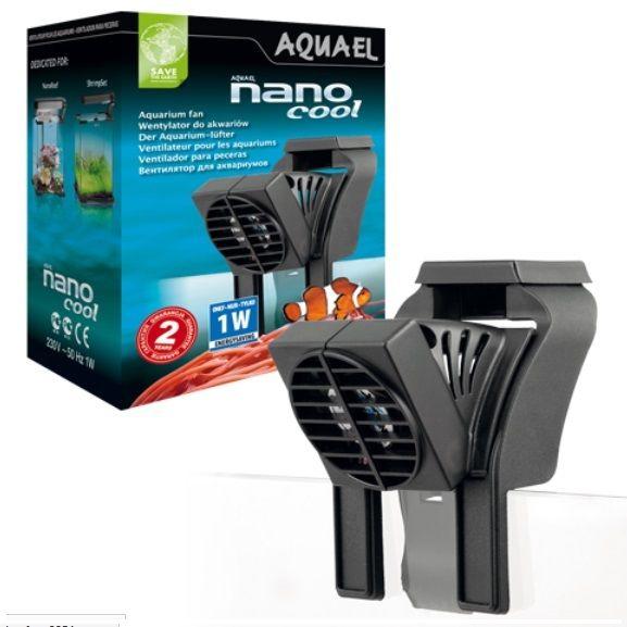 Aquael nano cool aquarium fan 1w usb fish tank cooler for Fish tank water cooler