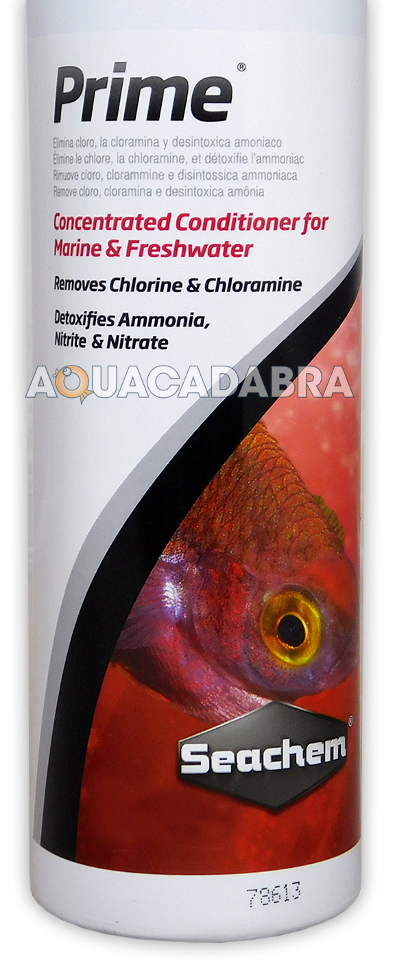 Seachem prime 500ml dechlorinator ammonia nitrate remover for Nitrite in fish tank