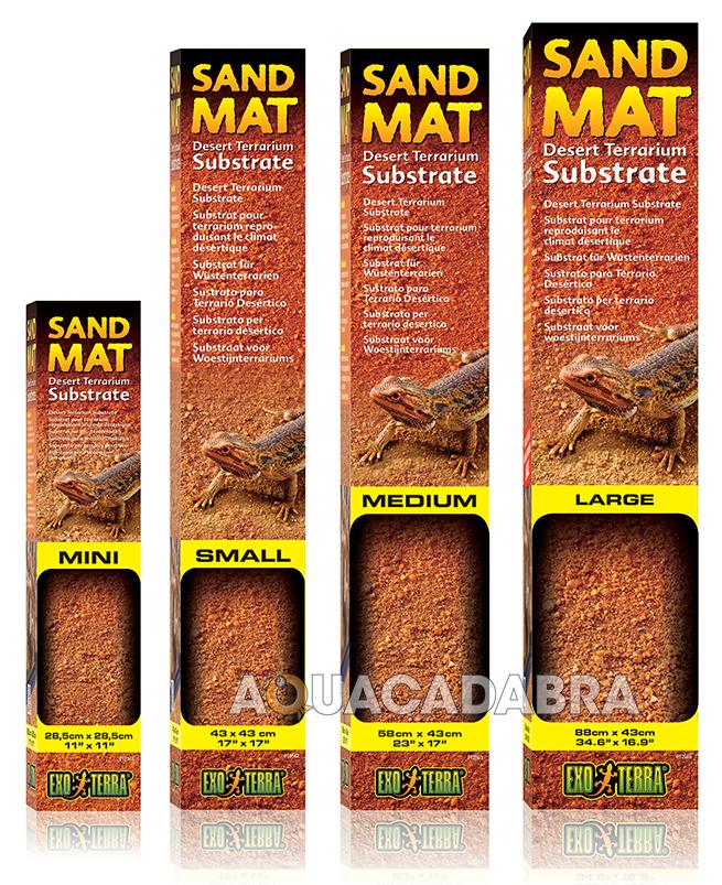 Exo Terra Sand Mat Desert Terrarium Substrate Safe