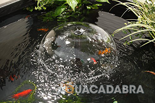 Blagdon affinity black rectangle patio feature pool fish for Koi pond return jets