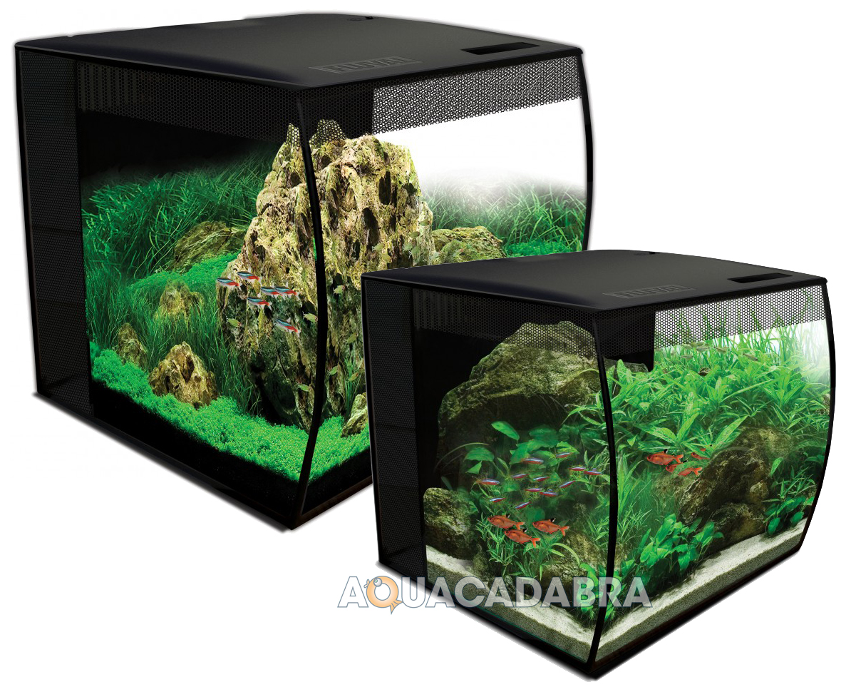 Fluval flex aquarium 34l 57l led lighting filter media for Fluval fish tank