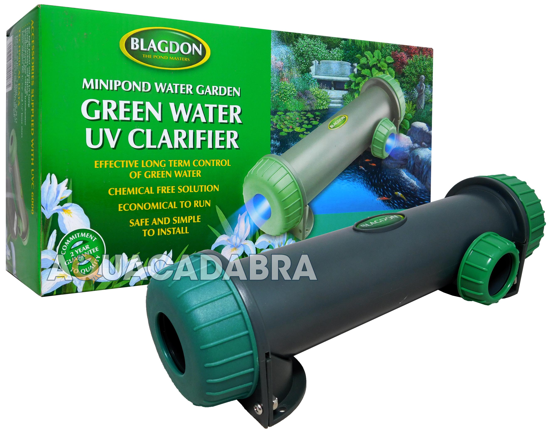 Blagdon pro mod uvc filter uv pond water steriliser for Koi pond uv light installation