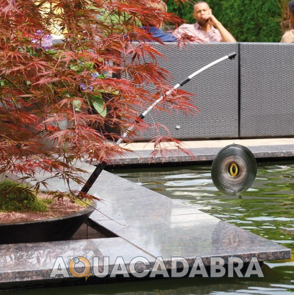 Velda heron stop spinner garden fish pond protect fish for Fish pond protection