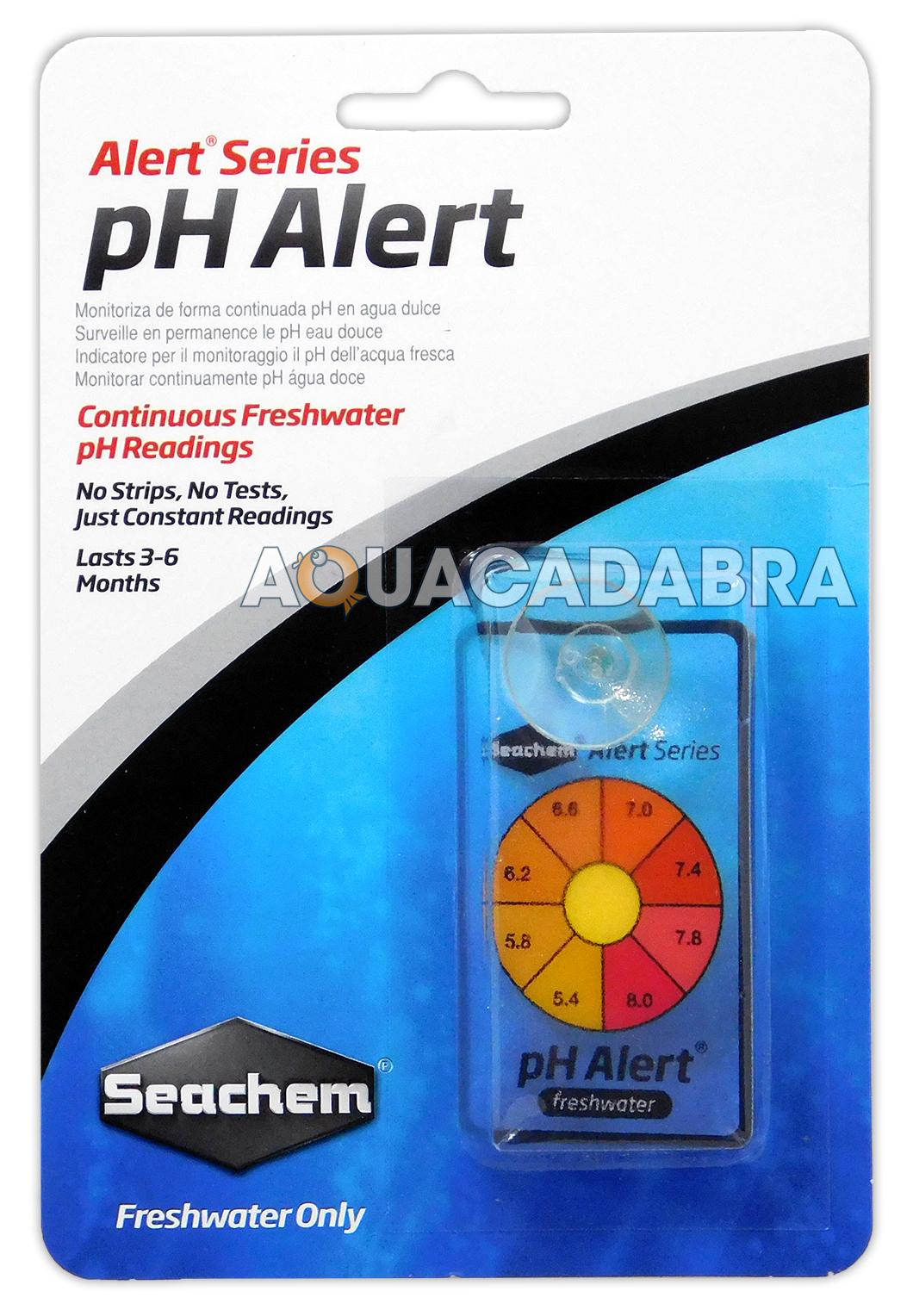 SEACHEM pH ALERT CONTINUOUS MONITOR SENSOR NO TESTS OR STRIPS AQUARIUM FISH TANK
