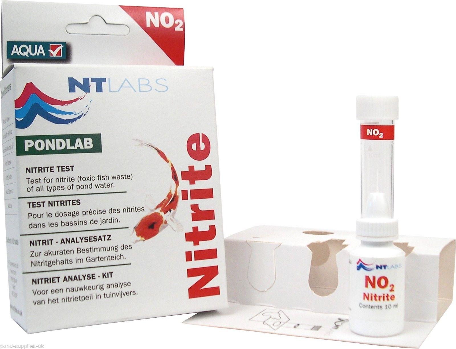 Nt labs single pond test kits ammonia nitrate ph nitrite for Ph for koi fish