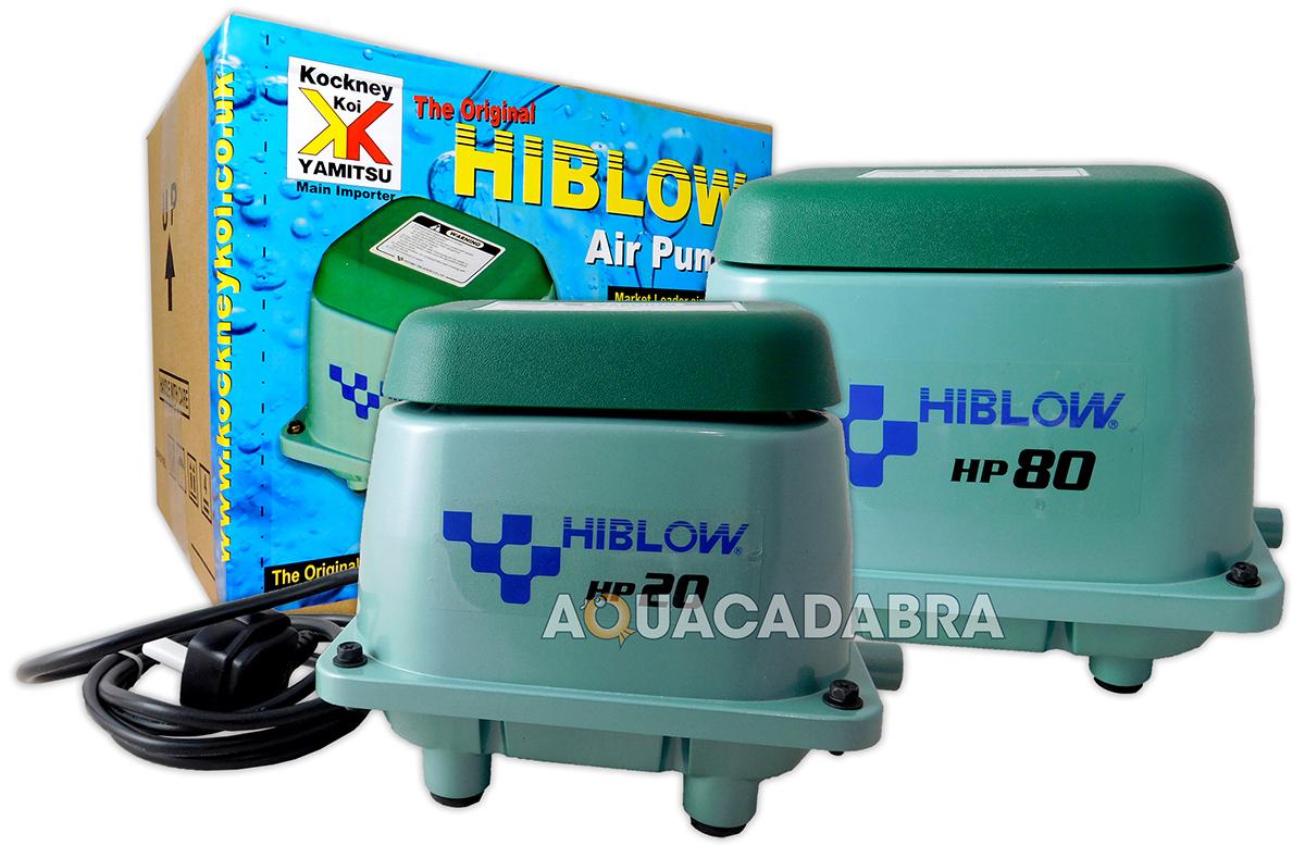 Genuine Japanese Hi Blow Pond Air Pump 20 40 80 100 200 Koi Fish Filtration Ebay