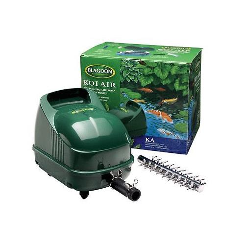 Blagdon garden pond koi air ka 25 50 65 goldfish fish air for Fish pond aerator