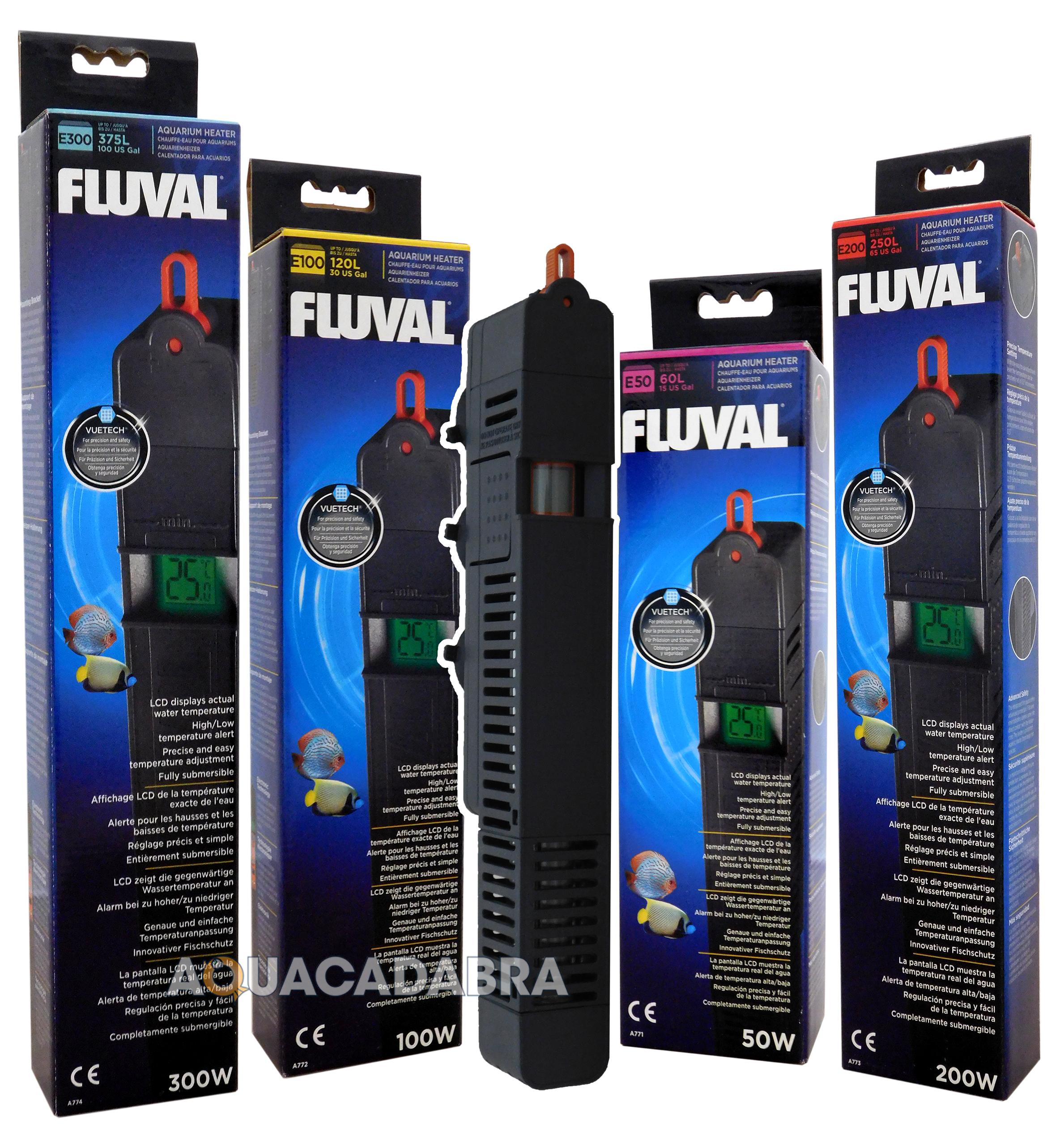 50w aquarium fish tank heater - Fluval E 50w 100w 200w 300w Electronic Fish Tank Heater E50 E100 E200 E300