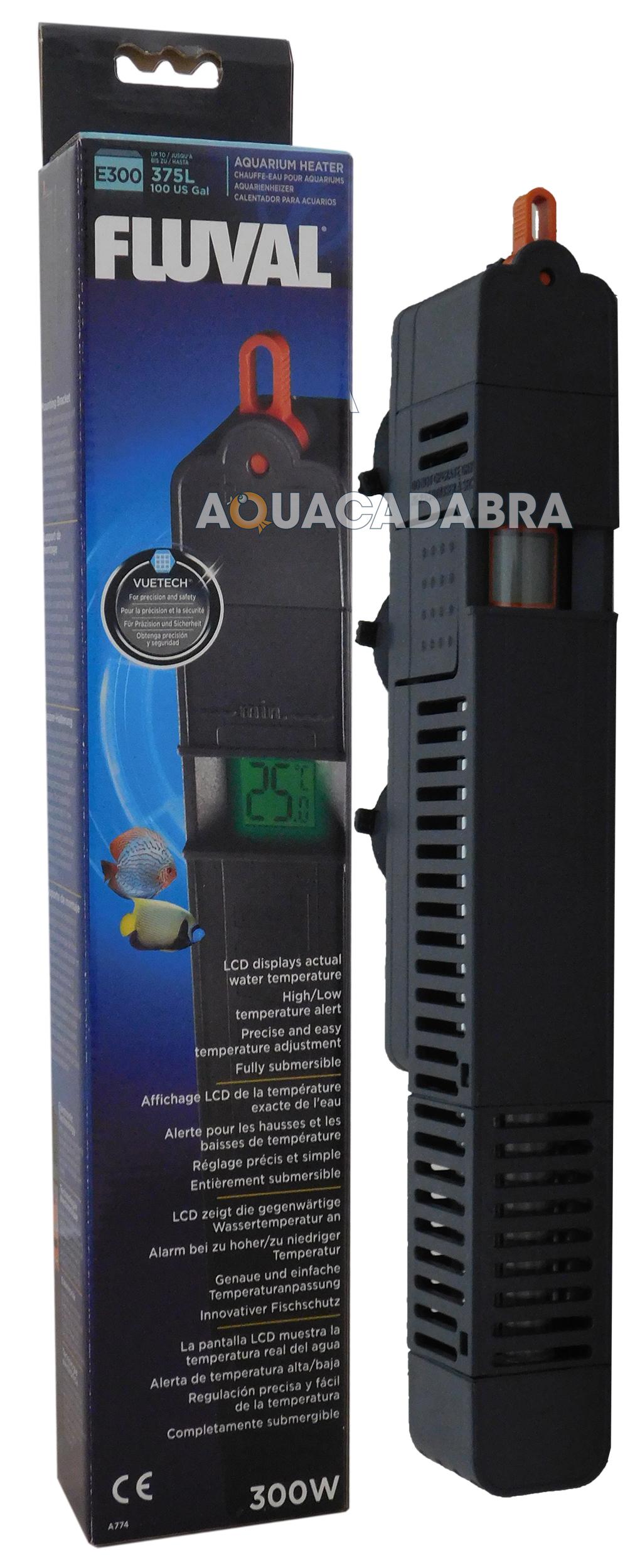 Fluval E 50w 100w 200w 300w Electronic Fish Tank Heater