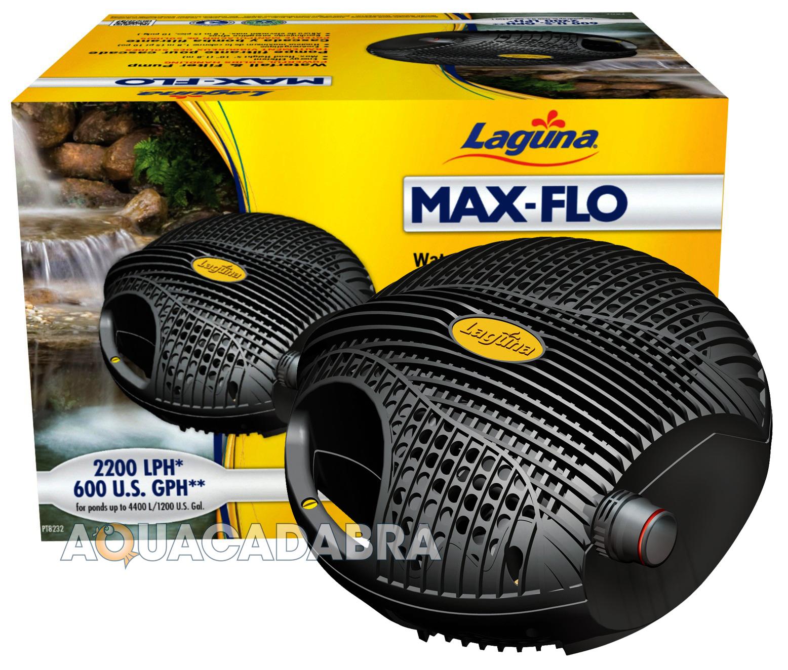 Laguna Maxflo Waterfall Filter Pond Pump Handles Solids Ebay