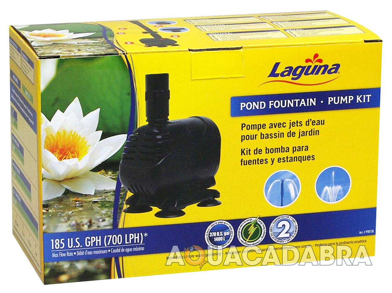 Laguna pond fountain pump kit 700 lph garden goldfish fish for Goldfish pond kits
