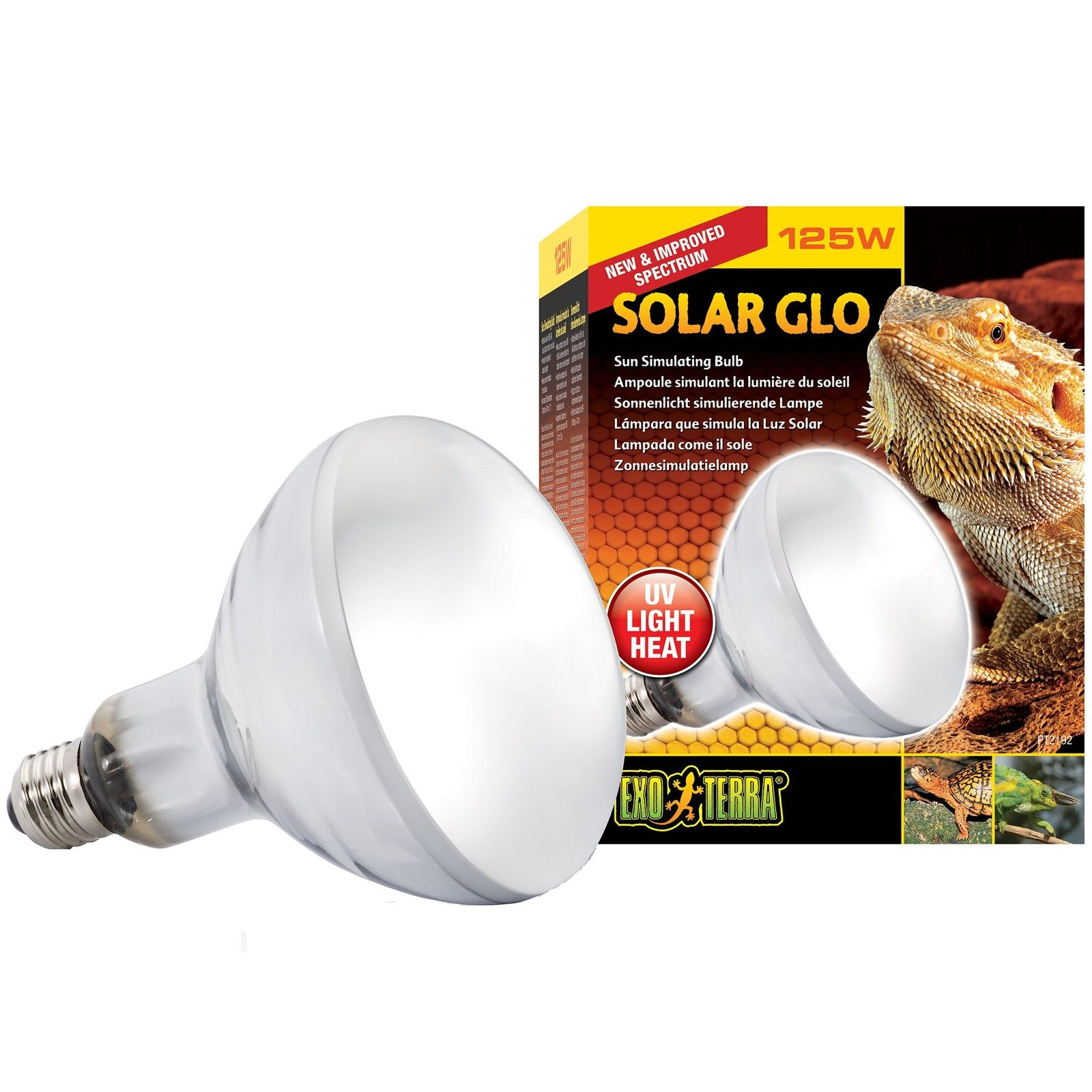 Exo Terra Solar Glo Heat Bulb Daylight Reptile Lighting
