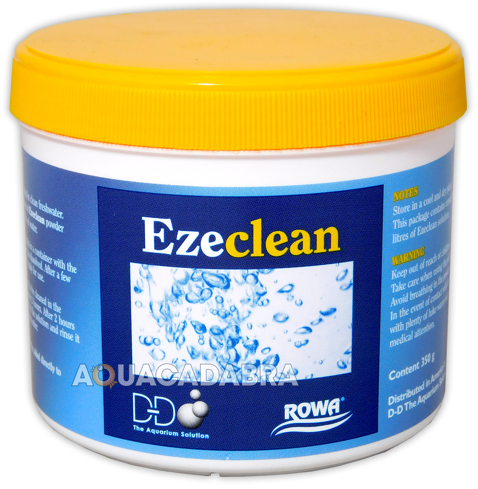 D d ezeclean 350g equipment cleaner aquarium fish tank for Cleaning fish tank with vinegar