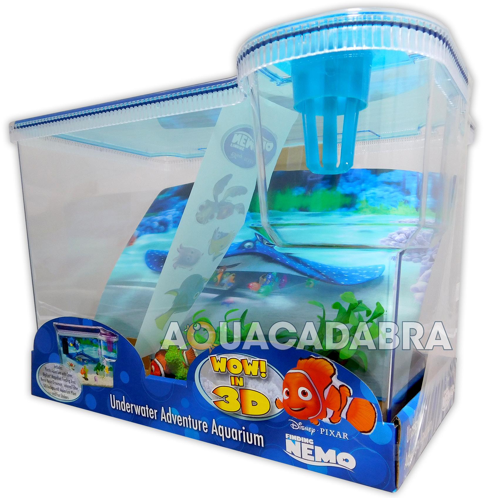 Finding nemo 3d aquarium 15l first fish tank dory disney for Finding nemo fish tank