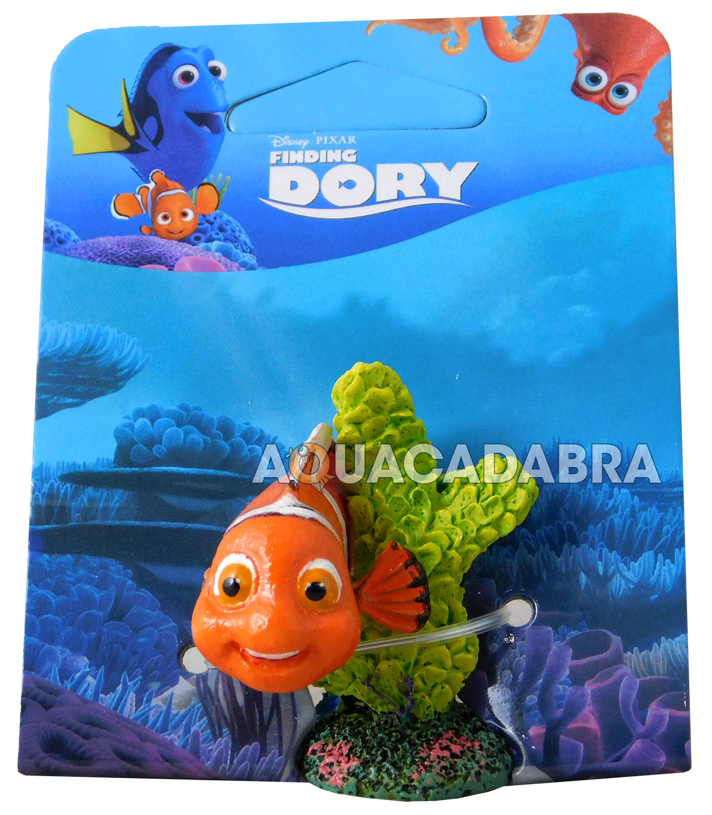 Finding dory nemo aquarium ornaments disney pixar fish for Finding nemo fish