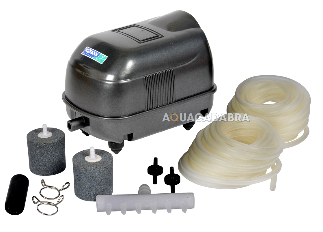 Hozelock air pump a1500 fish pond airline airstones for Yard pond pumps
