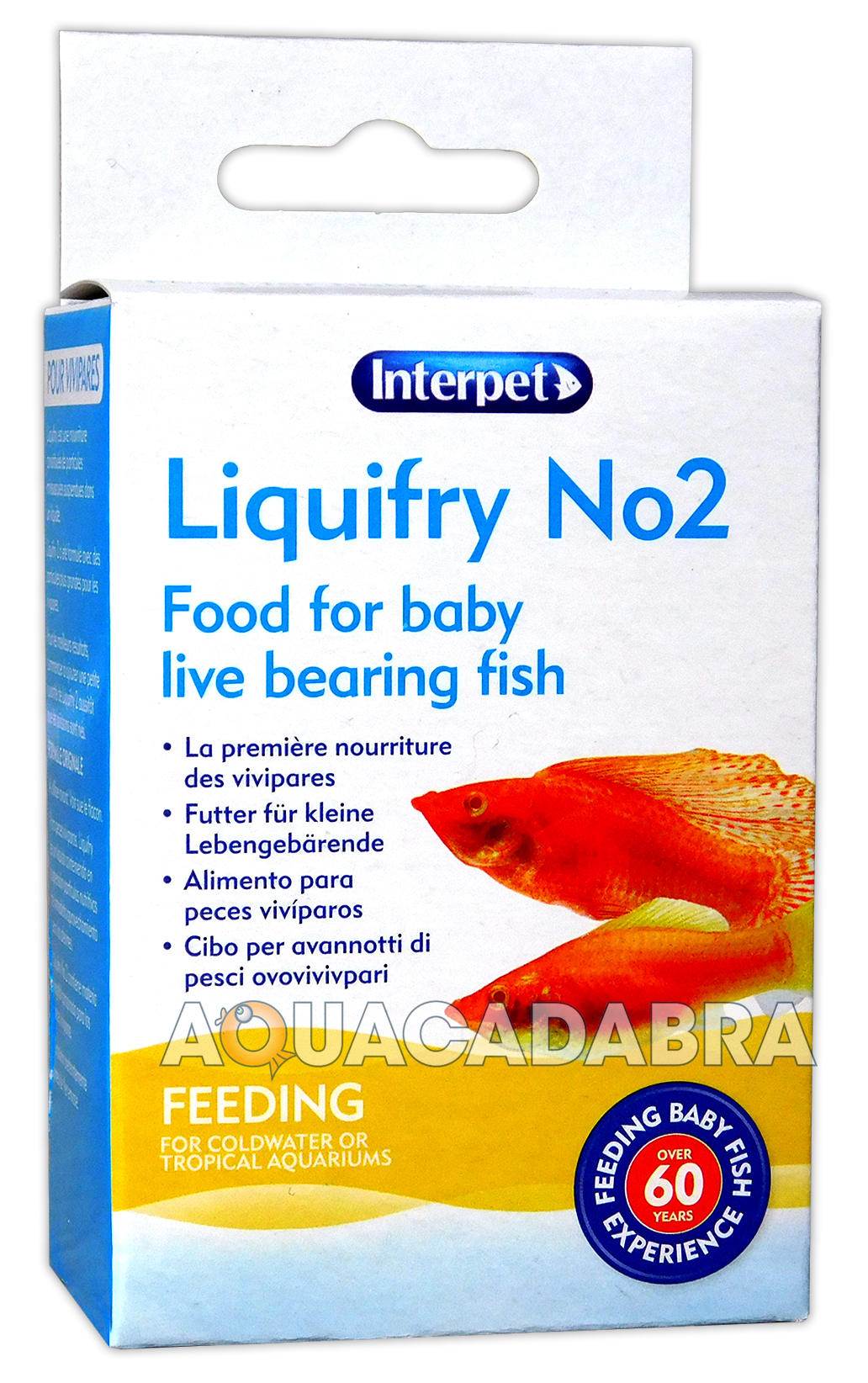 Interpet liquifry 2 liquid food for live bearing fish fry for Live fish food