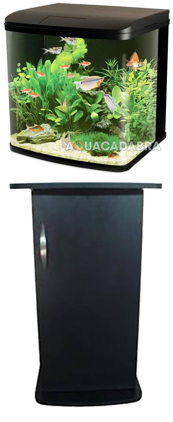 520l cabinet aquarium fish tank tropical - Kent Marine River Reef 94l Marine Led Lighting Aquarium Fish Tank Cabinet Stand