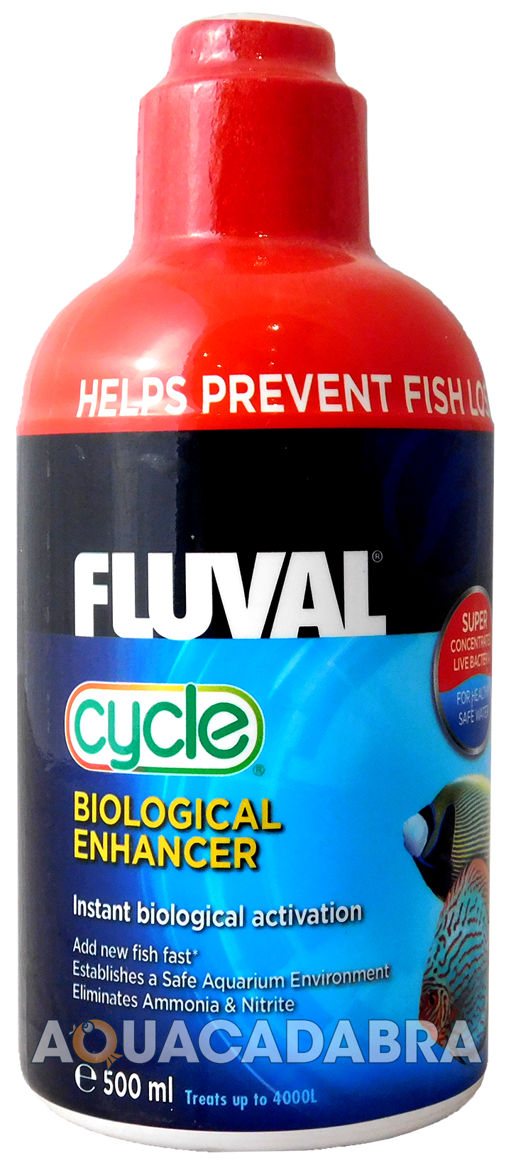 Fluval aquaplus cycle 500ml biological water conditioner for Water conditioner for fish tank