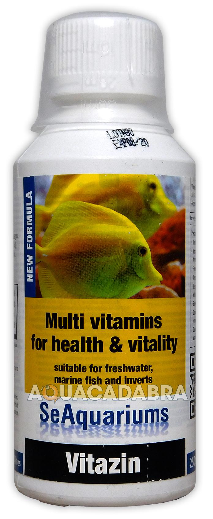 Freshwater aquarium fish vitamins - Water Life Vitazin 250ml Multi Vitamin Supplement Healthy Aquarium Fish Tank