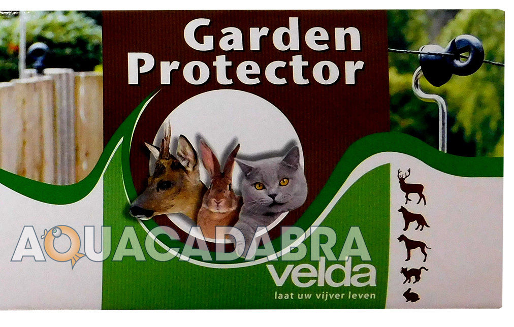 VELDA GARDEN PROTECTOR ELECTRIC WIRE FENCE AVIERY POND HERON CAT