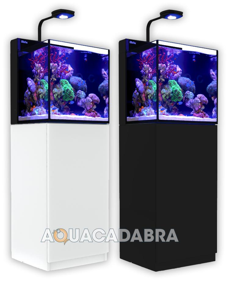 Red Sea Nano Max Complete System Black White Cabinet Reef