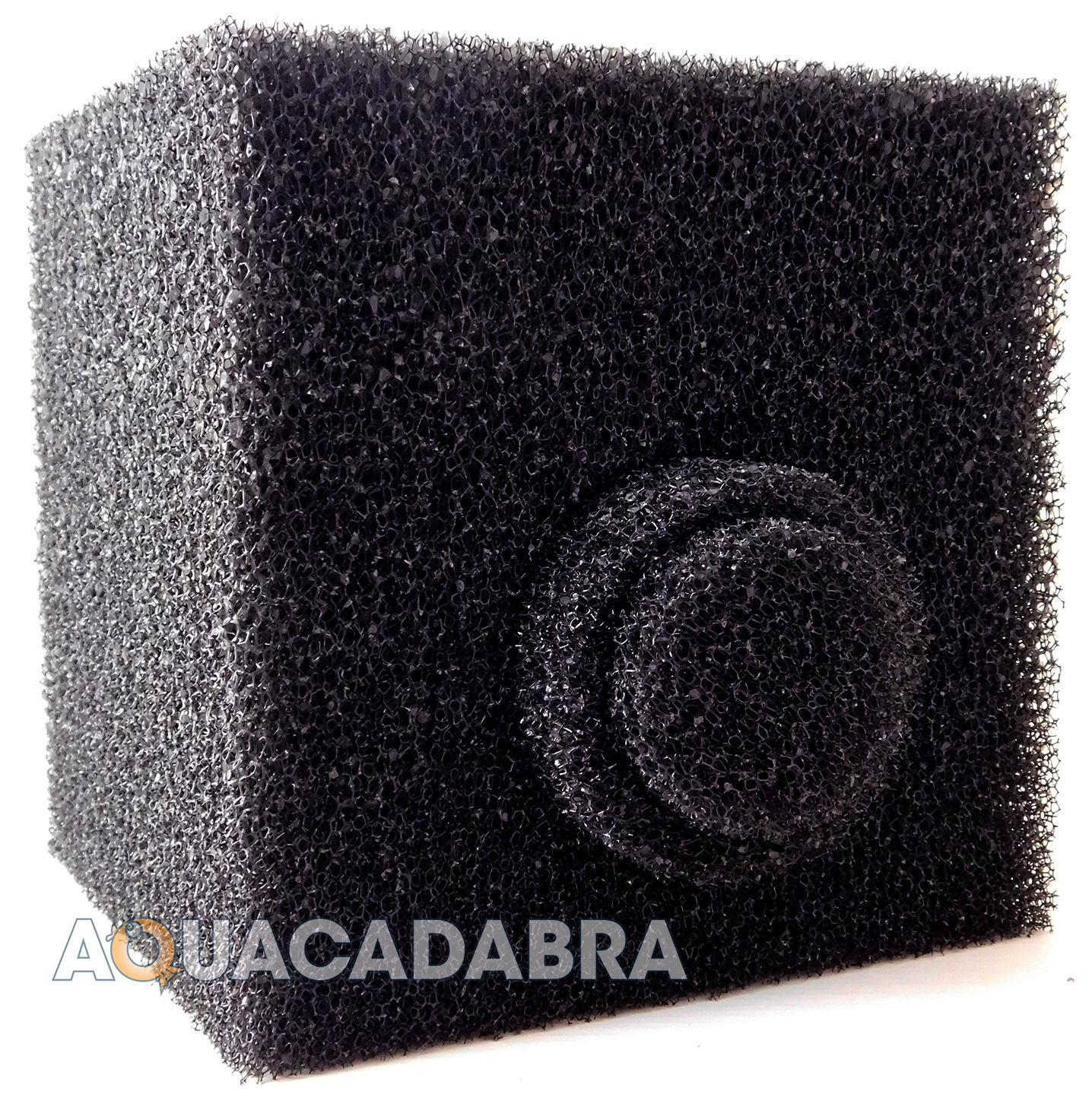 8 cube pond filter foam off centre hole pre filter sponge for Pond pre filter