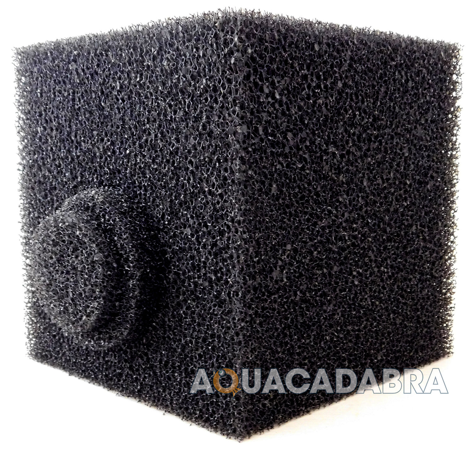 8 cube pond filter foam off centre hole pre filter sponge for Pond filter sponges