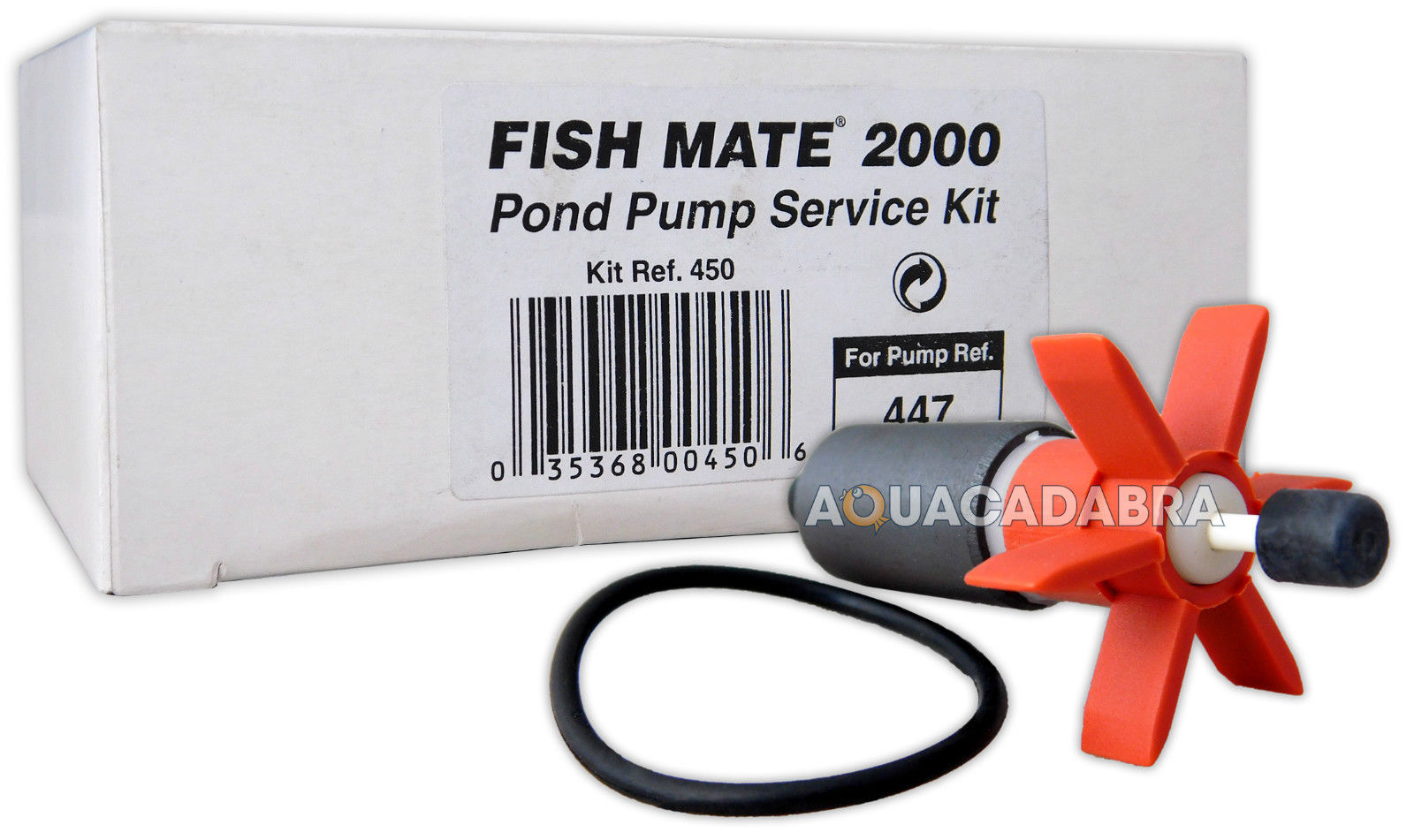 Fish mate impeller service kit pond pump fishmate all for Pond service