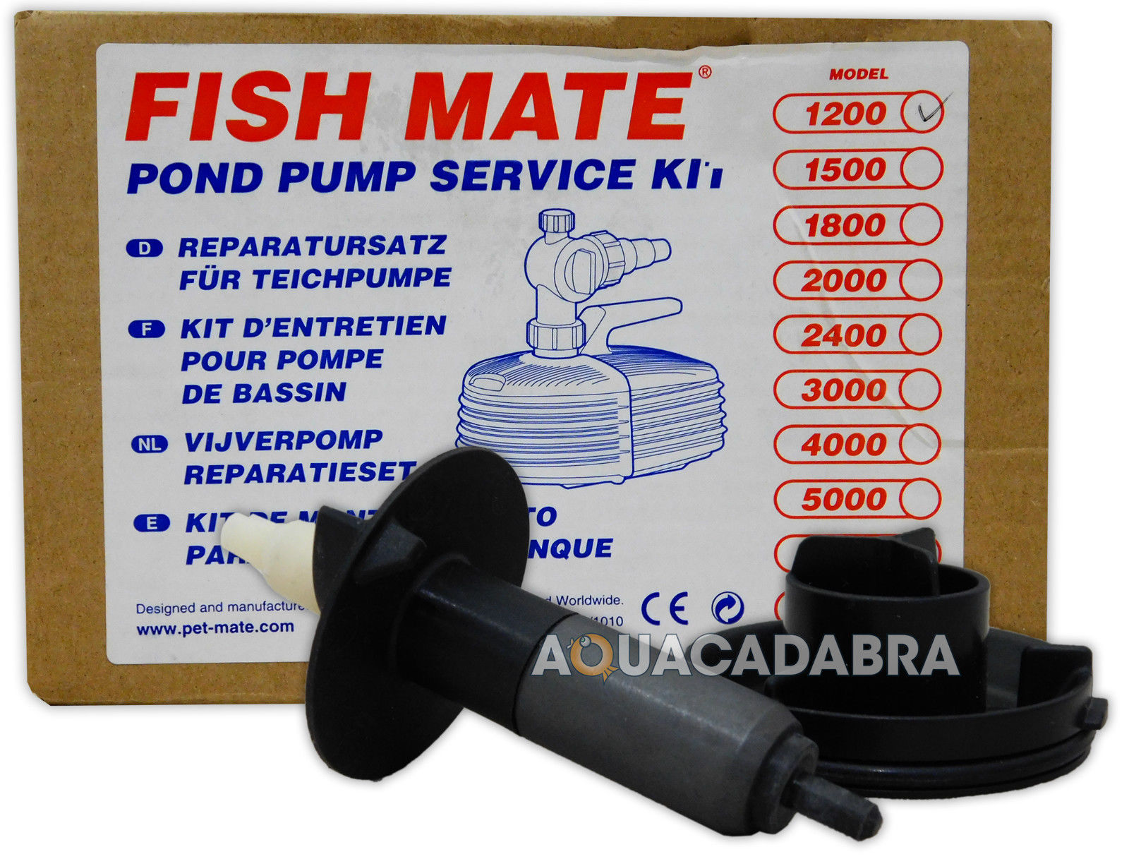 Fish mate pump replacement impeller service kit pond for Koi pond pump and filter kits