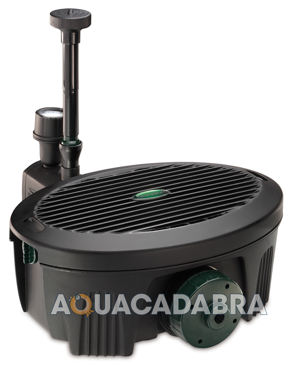 Blagdon inpond 2000 5 in 1 5w filter pump uvc uv koi for Small pond filter system