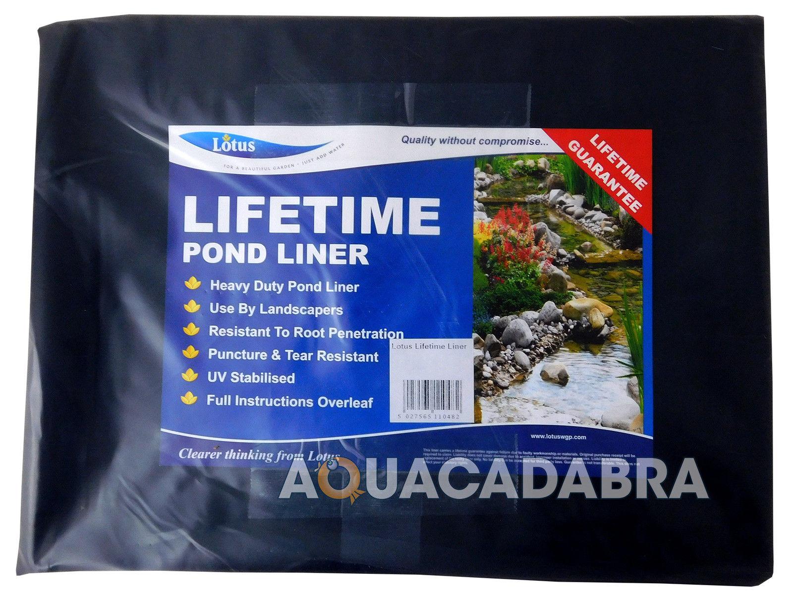 Oasis Pvc Pond Liner 2m X Lifetime Guarantee Fish Koi