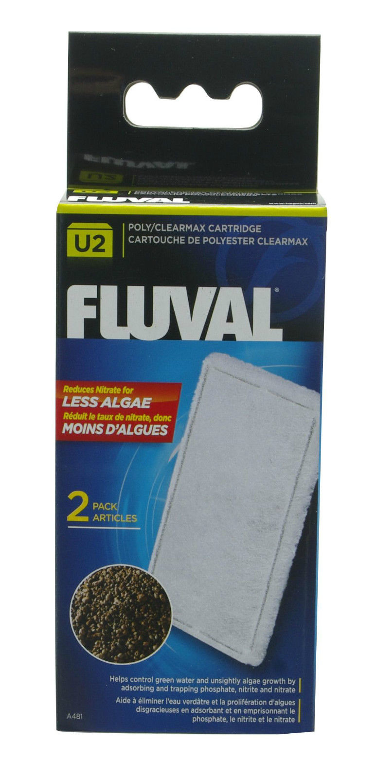 fluval u2 u3 u4 poly clearmax filter cartridge fish tank