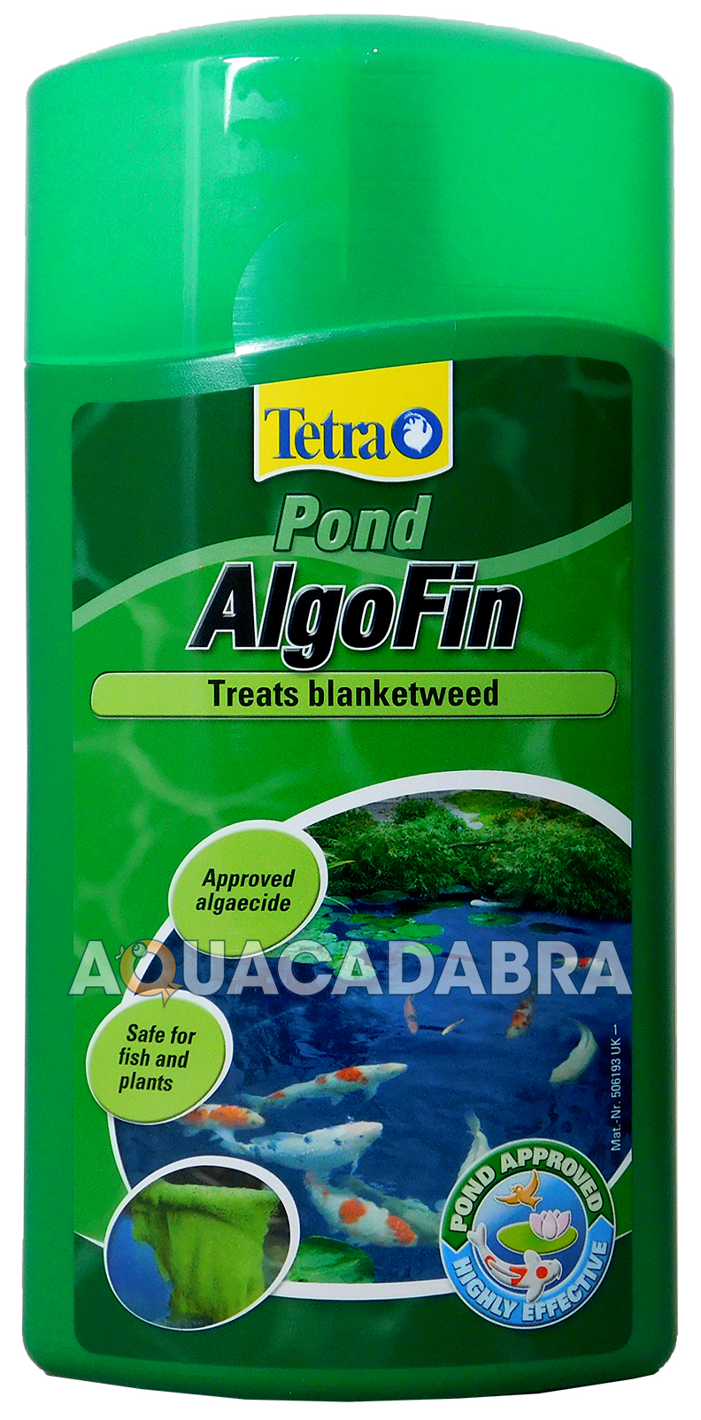 Tetra pond algofin 1l blanketweed algae treatment for Koi pond algae control