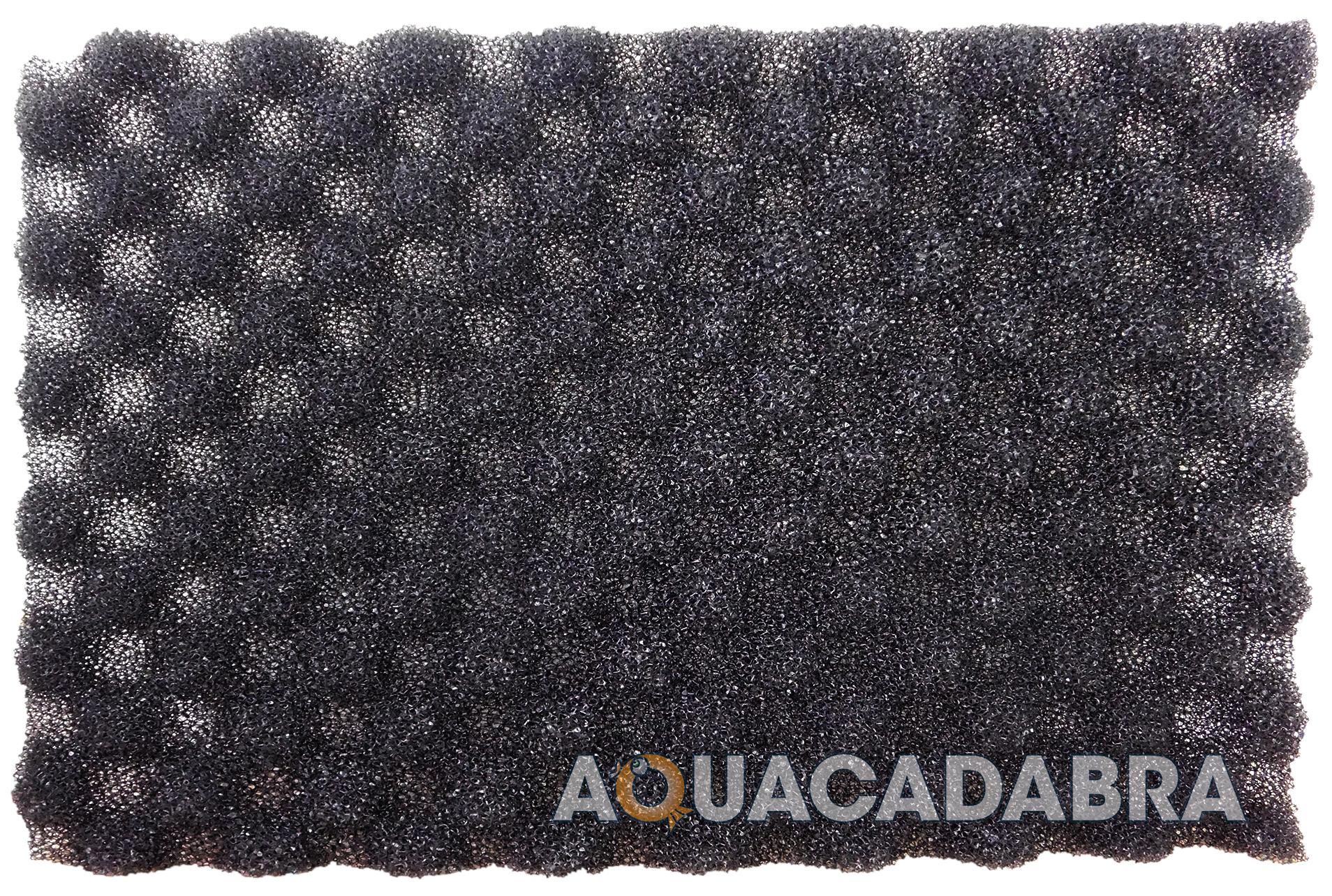 17 x 11 fish pond filter foam set of 3 fine medium for Foam on fish pond
