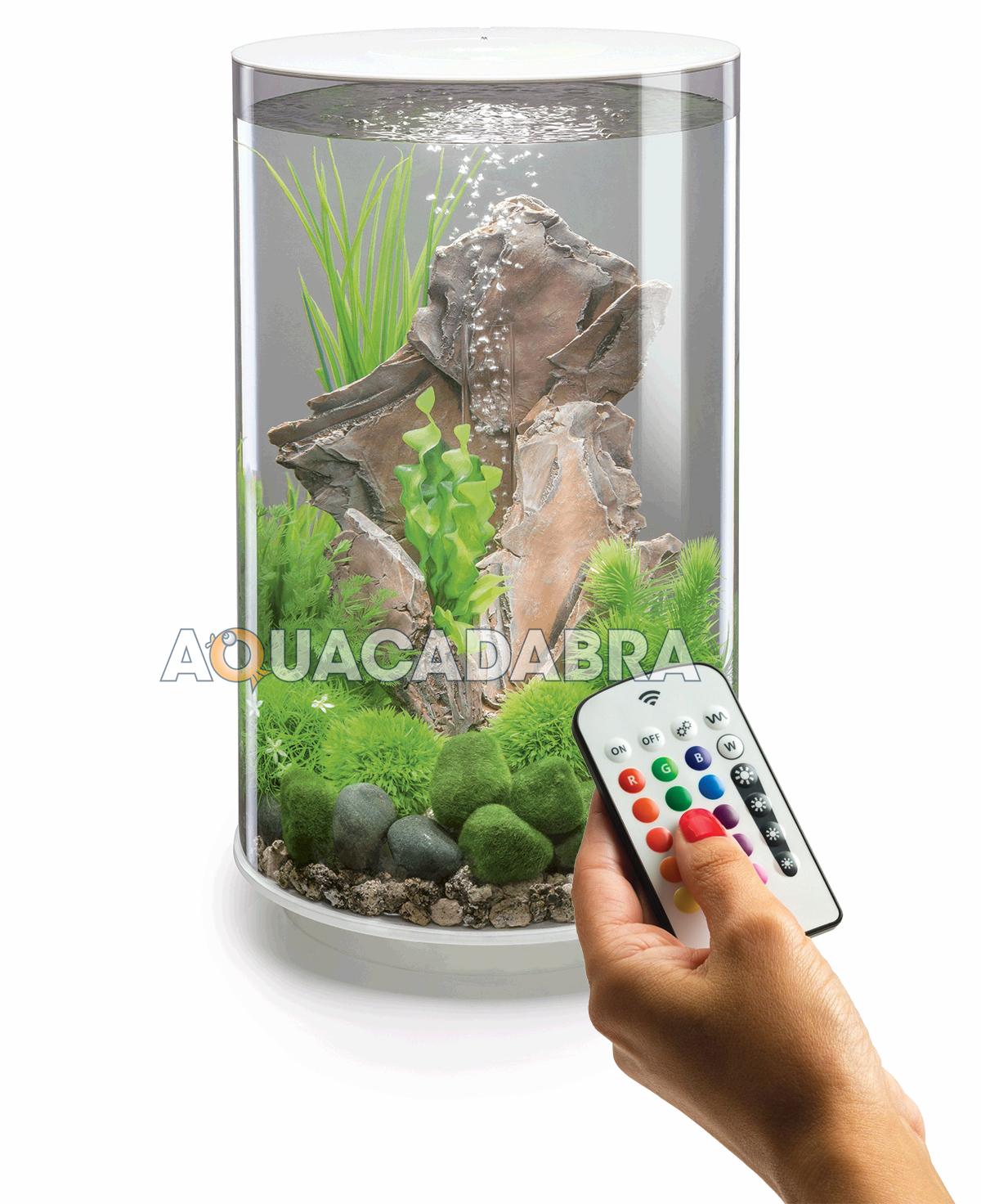 Oase biorb tube aquariums 15l 30l mcr led lighting filter for Fish and aquarium stores
