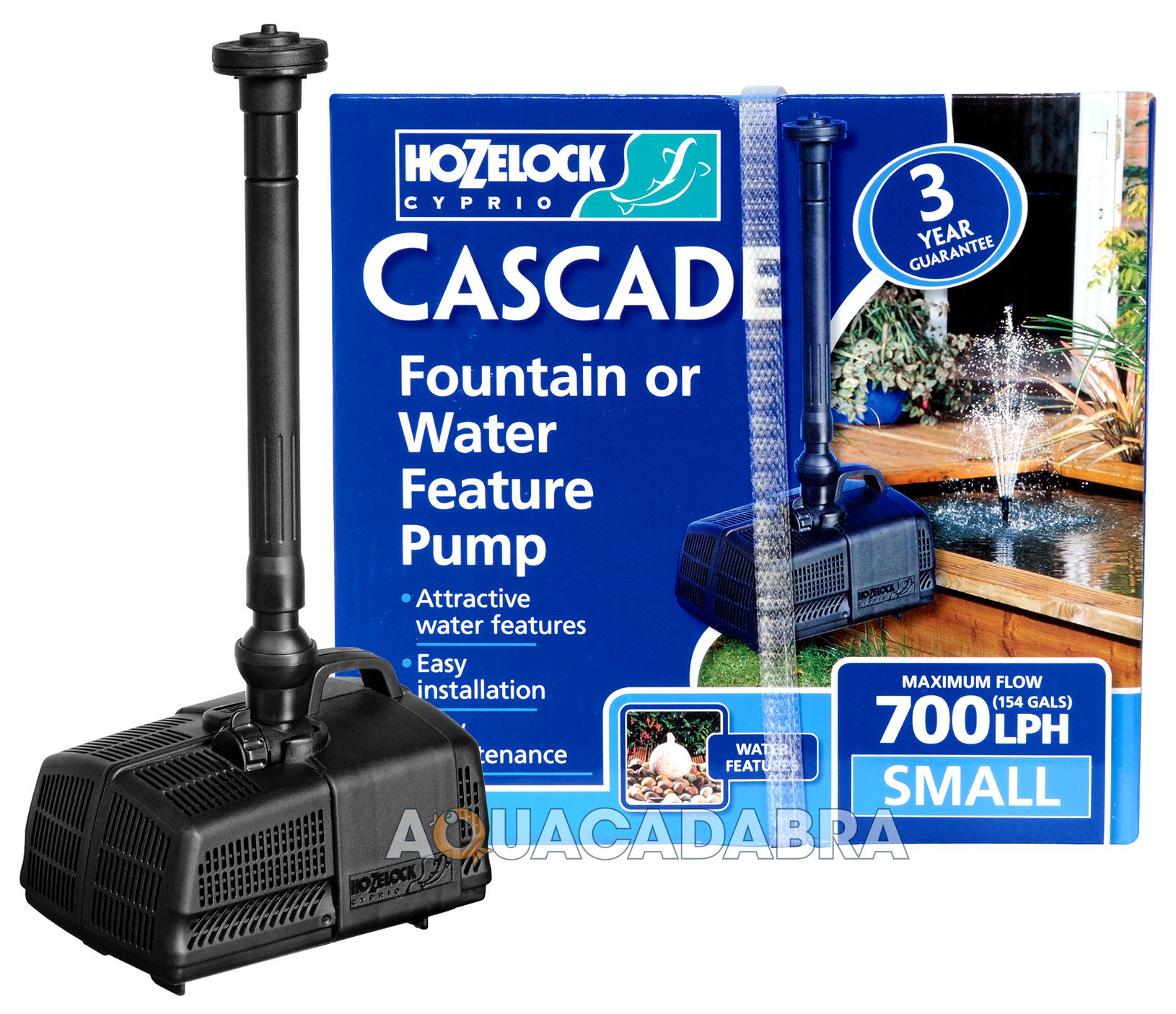 Hozelock cascade garden fish pond fountain waterfall pump for Hozelock pond pumps