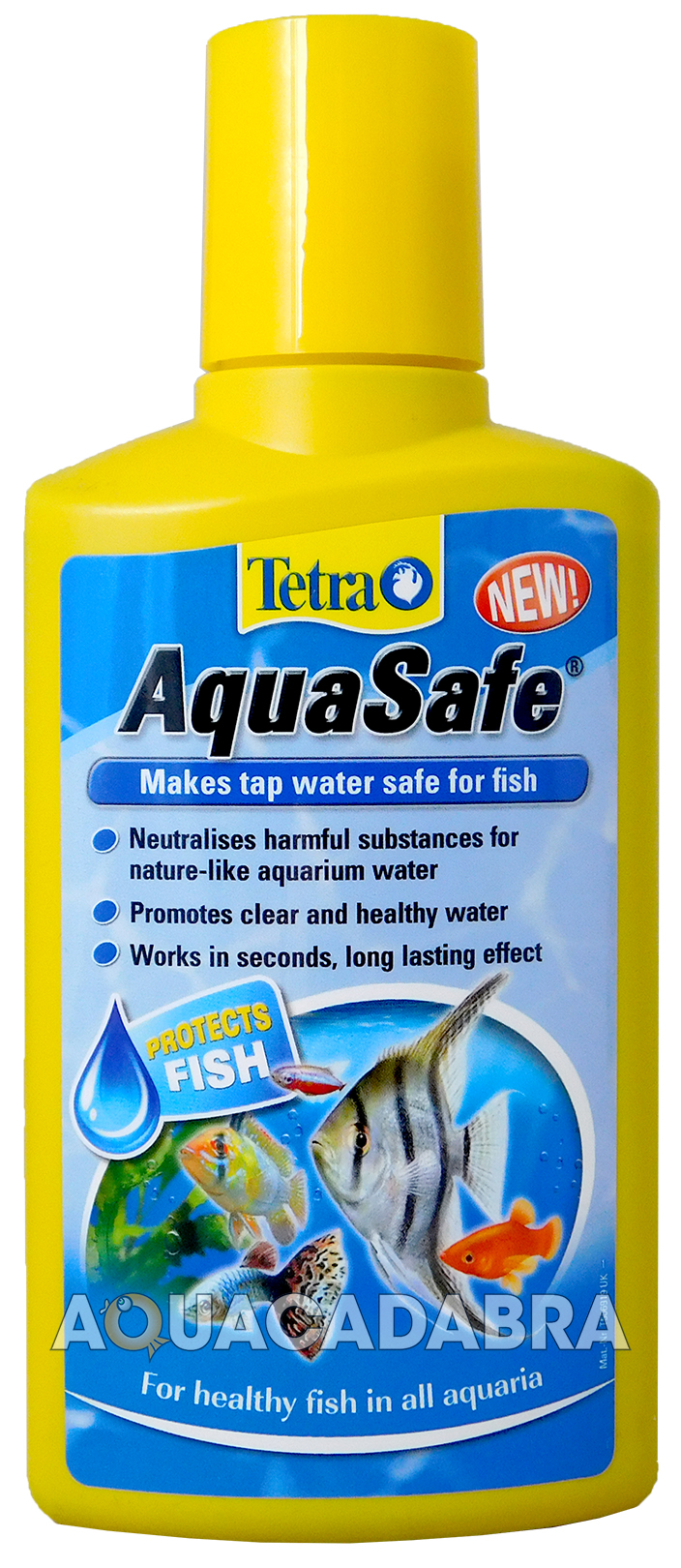 Tetra aquasafe 100ml 250ml 500ml 5l 5 litre fish tank tap for How to make tap water safe for fish